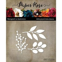 Paper Rose - Dies - Little Foliage 2