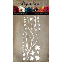 Paper Rose - Dies - Cherry Blossom Branch
