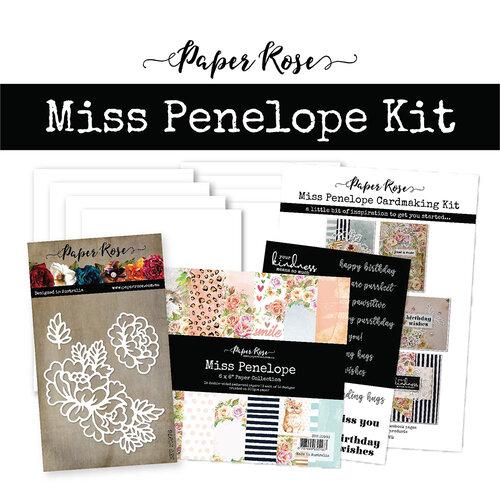 Paper Rose - Card Making Kit - Miss Penelope