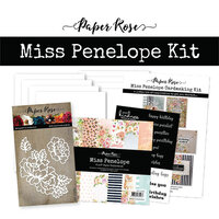 Paper Rose - Card Making Kit - Miss Penelope