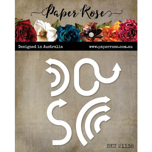 Paper Rose - Dies - Winding Arrows