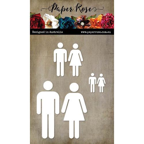 Paper Rose - Dies - People Icons