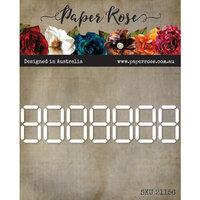 Paper Rose - Dies - Digital Numbers