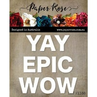Paper Rose - Dies - Yay Epic Wow