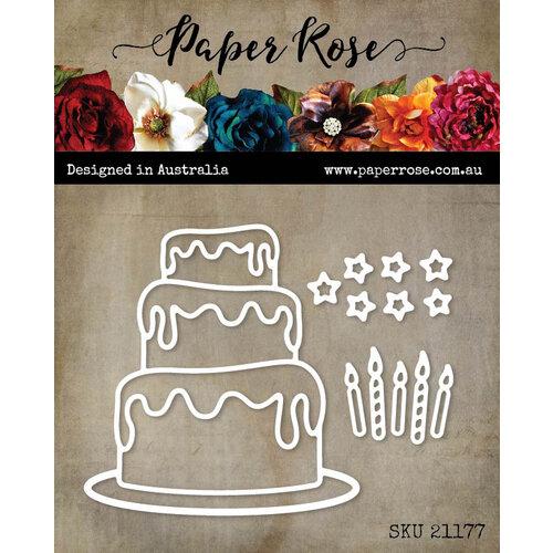 Paper Rose - Dies - Birthday Cake