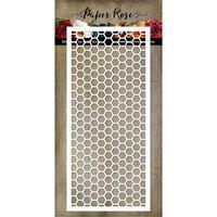 Paper Rose - Dies - Slimline Card Creator 5 - Hexie