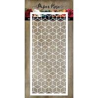 Paper Rose - Dies - Slimline Card Creator 6 - Blocks
