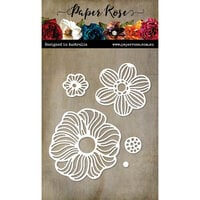 Paper Rose - Dies - Zen Blooms