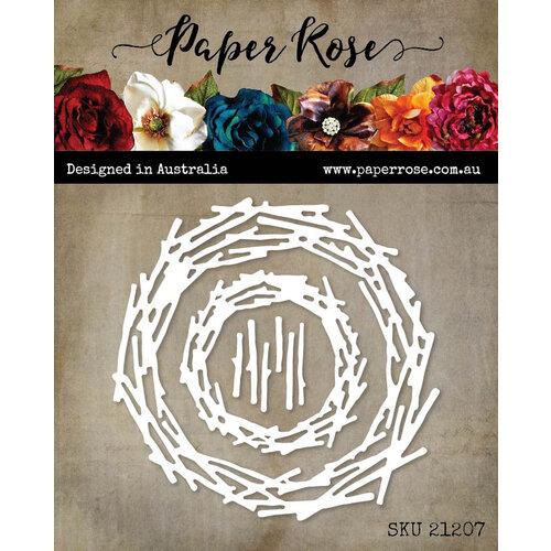 Paper Rose - Dies - Twig Nests