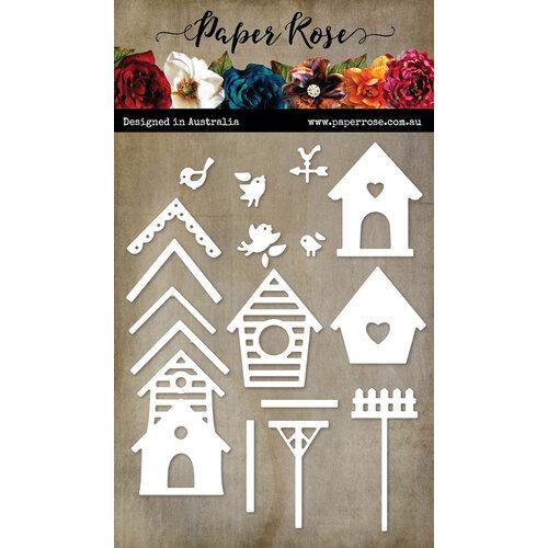 Paper Rose - Dies - Bird Houses