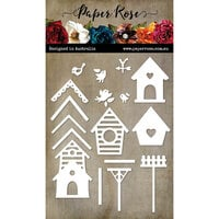 Paper Rose - Dies - Bird Houses