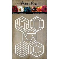 Paper Rose - Dies - Inch Hexies Set 2
