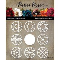 Paper Rose - Christmas - Dies - Geo Inchi Circles