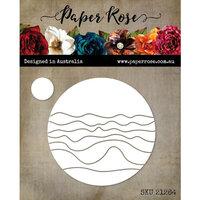 Paper Rose - Dies - Beach Scene Circle