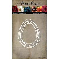 Paper Rose - Dies - Oval Scribble