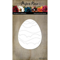 Paper Rose - Dies - Scalloped Waves