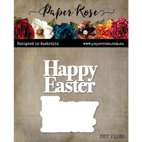 Paper Rose - Dies - Happy Easter Chunky Layered