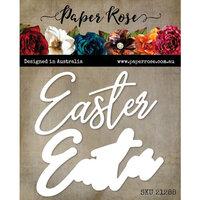 Paper Rose - Dies - Big Easter Script Layered