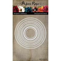 Paper Rose - Dies - Track Circle Frames