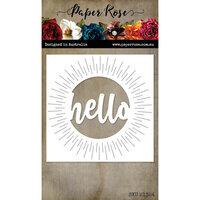 Paper Rose - Dies - Hello Circle