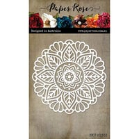 Paper Rose - Dies - Audrey Circle Mandala