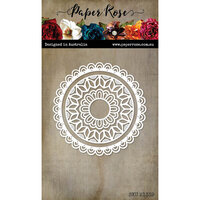 Paper Rose - Dies - Evelyn Mandala Circle
