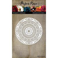 Paper Rose - Dies - Geo Mandala