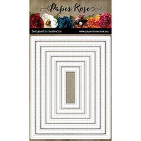 Paper Rose - Dies - Pierced Rectangles