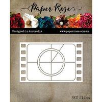 Paper Rose - Dies - Retro Film Frame