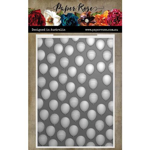 Paper Rose - 3D Embossing Folder - Balloons