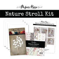 Paper Rose - Cardmaking Kit - Nature Stroll