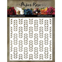 Paper Rose - 6 x 6 Stencils - Little Scandi Pattern