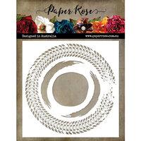Paper Rose - 6 x 6 Stencils - Tire Track Circle