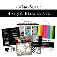 Paper Rose - Cardmaking Kit - Bright Blooms