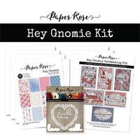 Paper Rose - Cardmaking Kit - Hey Gnomie