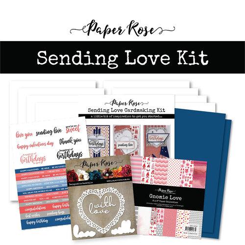 Paper Rose - Cardmaking Kit - Sending Love