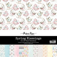 Paper Rose - 12 x 12 Collection Pack - Spring Blessings
