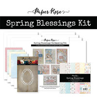 Paper Rose - Cardmaking Kit - Spring Blessings