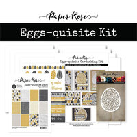 Paper Rose - Cardmaking Kit - Eggs-quisite