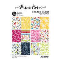 Paper Rose - A5 Paper Pack - Whimsy Birds