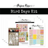 Paper Rose - Cardmaking Kit - Bird Days