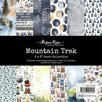 Paper Rose - 6 x 6 Collection Pack - Mountain Trek