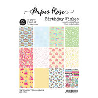 Paper Rose - A5 Paper Pack - Birthday Wishes