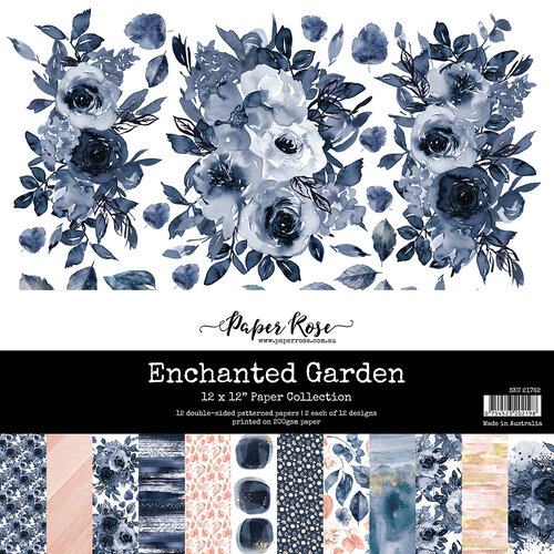 Paper Rose - 12 x 12 Collection Pack - Enchanted Garden