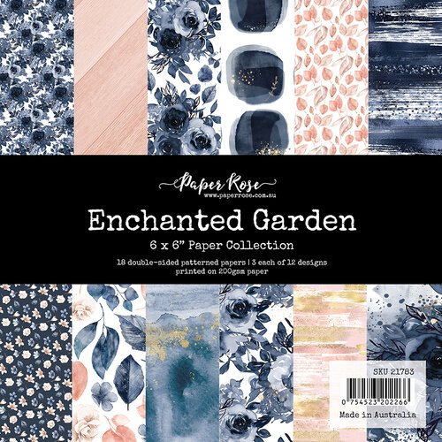 Paper Rose - 6 x 6 Collection Pack - Enchanted Garden