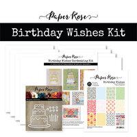 Paper Rose - Cardmaking Kit - Birthday Wishes