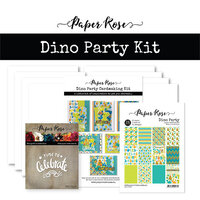 Paper Rose - Cardmaking Kit - Dino Party