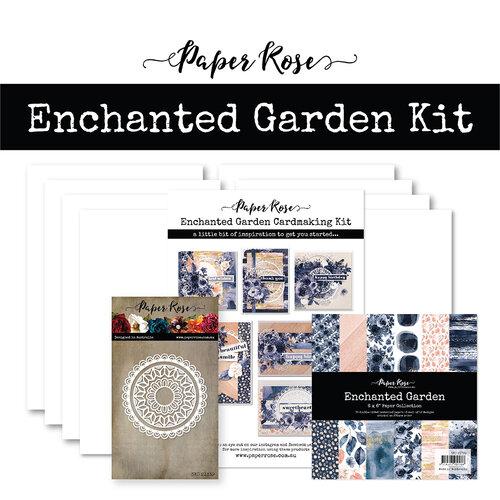 Paper Rose - Cardmaking Kit - Enchanted Garden