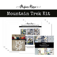Paper Rose - Cardmaking Kit - Mountain Trek