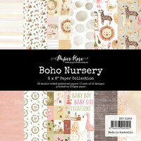 Paper Rose - 6 x 6 Collection Pack - Boho Nursery